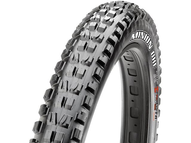 "Maxxis Minion DHF+ Folding Tyre 29x3.00"" TLR EXO Dual black"